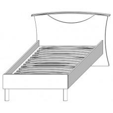 Кровать 900 Домино (Сокме)